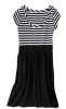 striped dress old navy