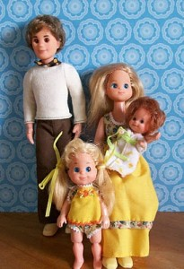 Sunshine Family Dolls