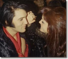 Elvis celebrates