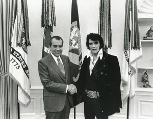 Elvis and president